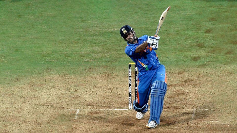 Dhoni Finishes Off In Style