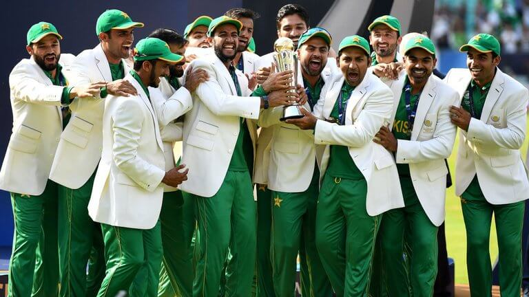 Pakistan's Champions Trophy