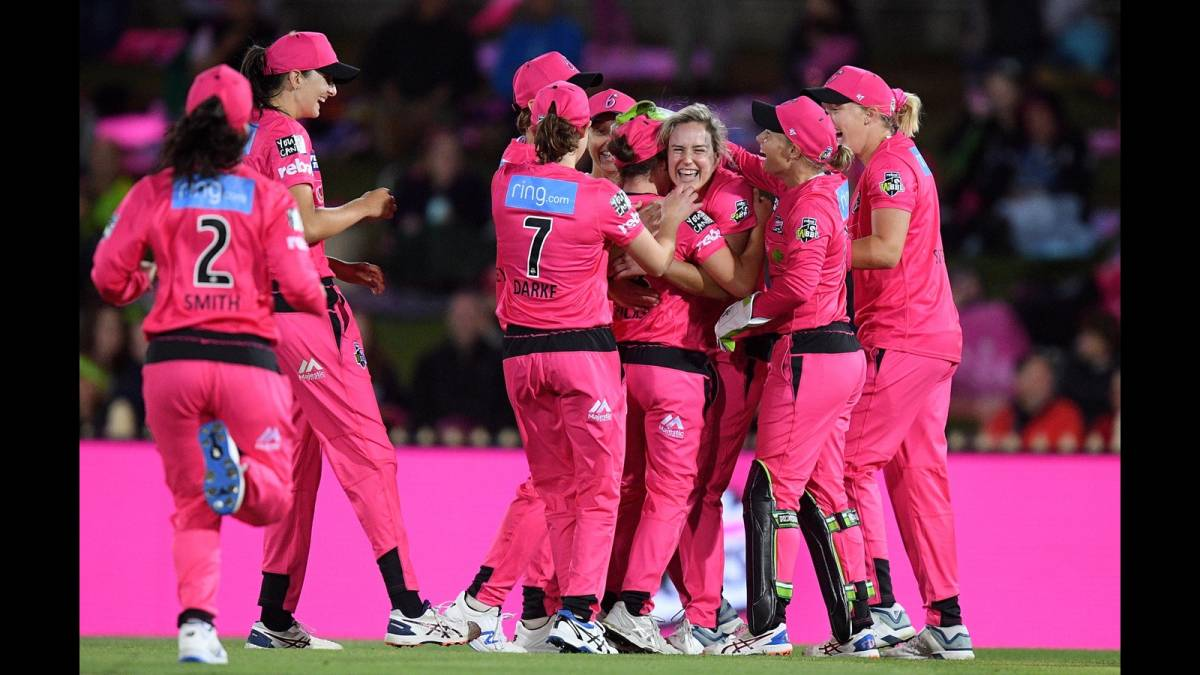 Big Bash League 2020 Sydney Sixers Ends Melbourne Stars' 8 Win Game Streak