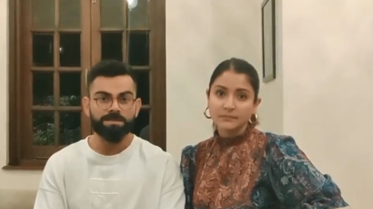 Virat Kohli And Wife Anushka Sharma Share A Special Message To Fans Amid The Coronavirus Outbreak