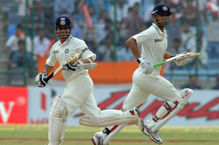 Rahul Dravid And Sachin Tendulkar's Bizarre Test Record