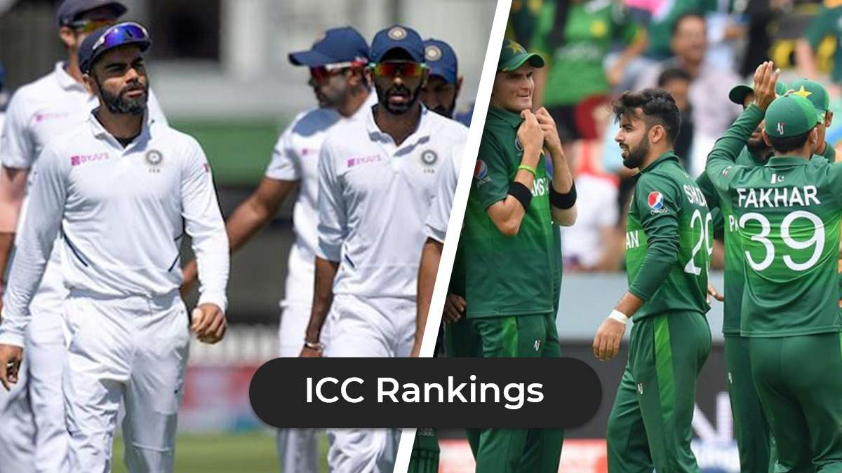Latest ICC Rankings: India No Longer No. 1 In Test, Pakistan Loses T20I No. 1 Position