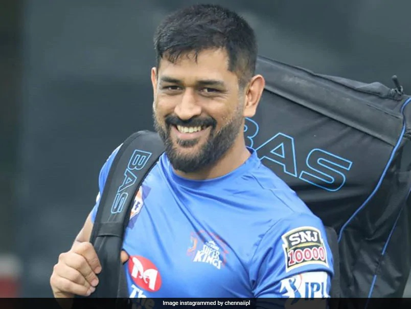 CSK Shares Picture Of MS Dhoni Smiling Into The Camera With Kit On His Back