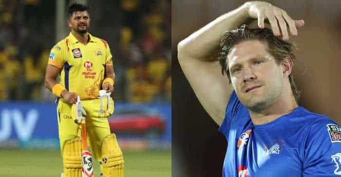 IPL 2020 Shane Watson Names The Player Who Can Replace Suresh Raina In CSK