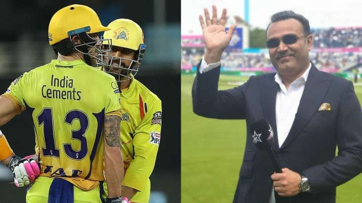 IPL 2020: Virendra Sehwag Gives A Comical Suggestion To CSK Batsmen To Get Their Motor Started