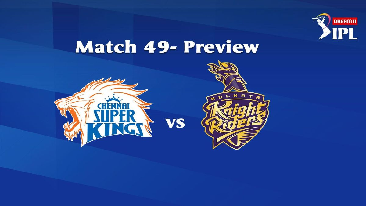 CSK Vs KKR At Dubai Head-To-Head Stats And Match Prediction