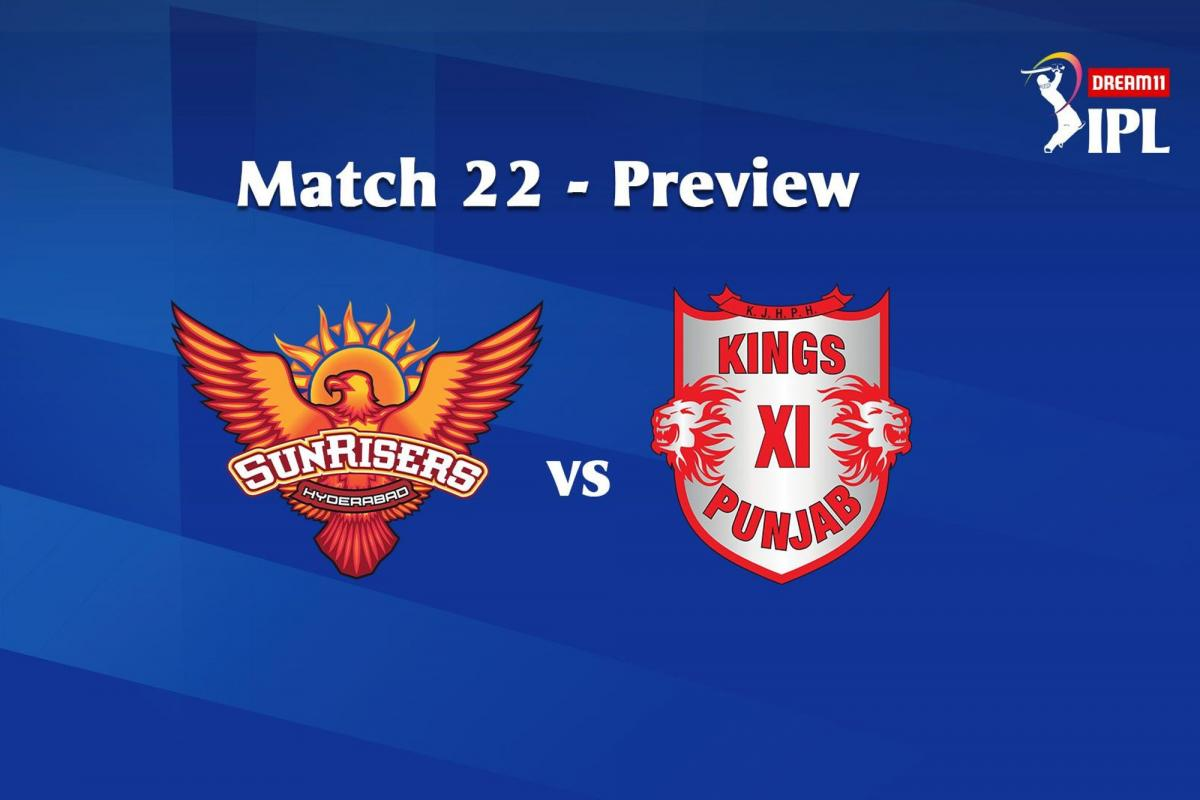 How SRH And KXIP Fared In The Past And Match Prediction