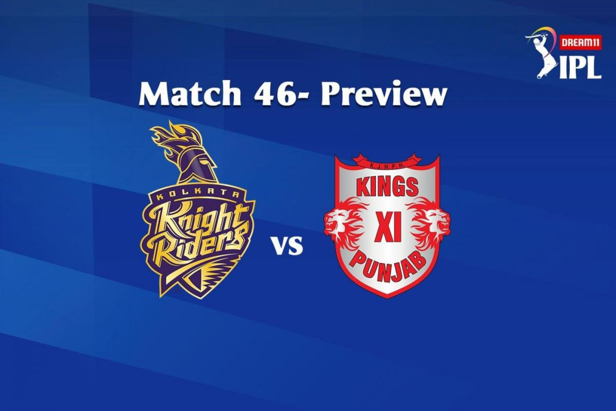 Match 46 KKR Vs KXIP Match Prediction, Head-To-Head Stats And More