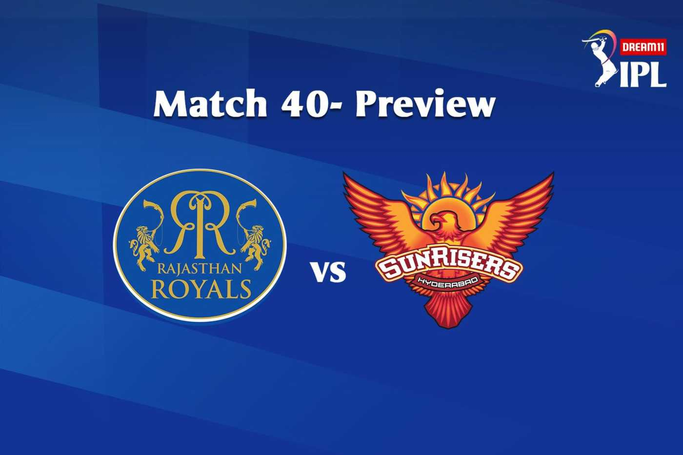 IPL 2020, Match 40: Rajasthan Royals To Face SunRisers Hyderabad, See Head-To-Head Stats and Match Winner Prediction