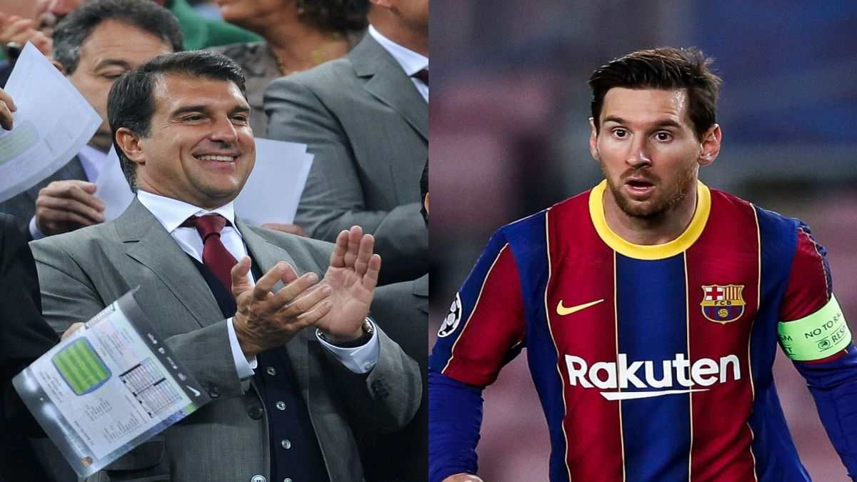 "Barcelona's Presidential Candidate Laporta Says ""The Messi Situation is Reversible"""