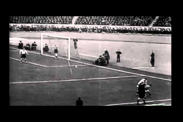 First Live Telecast Of A  Football Match