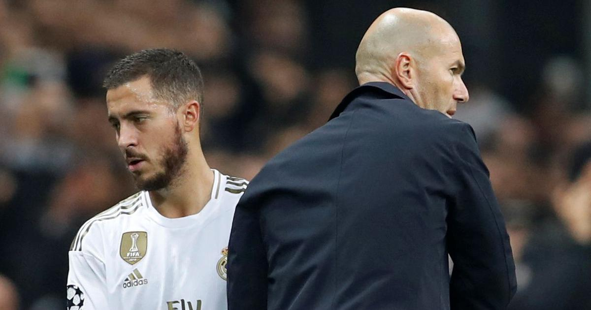 Zinedine Zidane Calls For Patience With Eden Hazard As The Belgian Player Makes Return From Injury