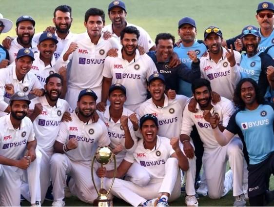 India Vs Australia India Wins The Brisbane Match And The Series 2-1