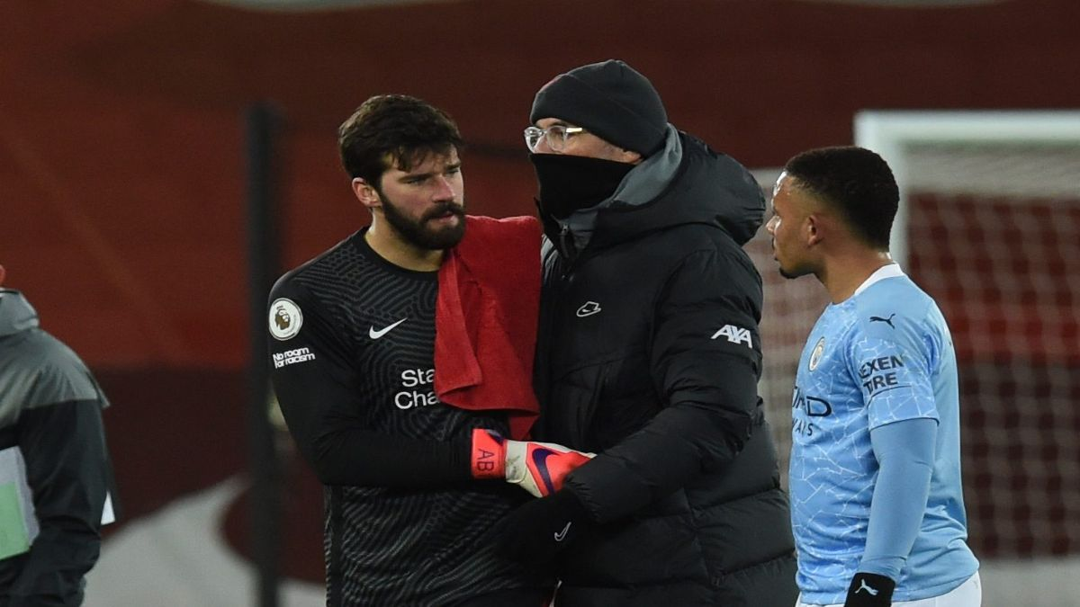 Klopp Reveal What He Said To Alisson When Liverpool Goalkeeper's Man City Nightmare
