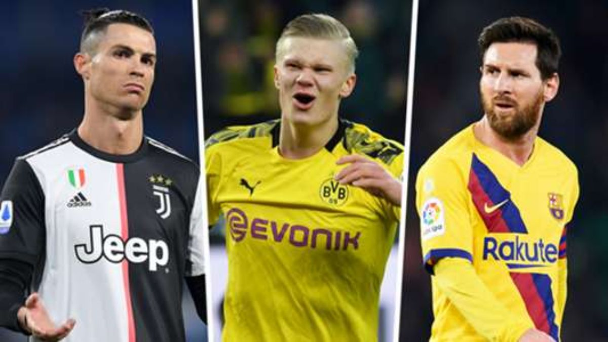Young Gun From Norway Breaks Champions League Records, Goes Past Mbappe, Messi and Ronaldo