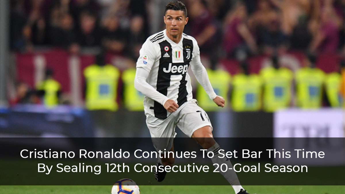 The Juventus star's goalscoring run is unmatched across Europe's top-five leagues