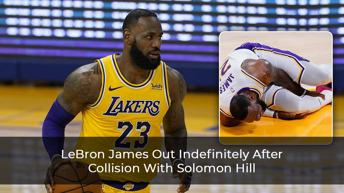 LeBron James Out Indefinitely After Collision With Solomon Hill
