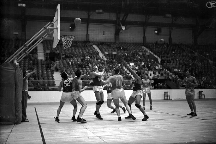 Rochester Royals and Indianapolis Olympians Longest NBA Game