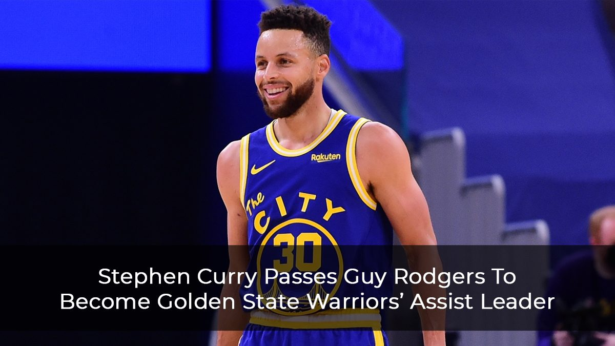 Stephen Curry Passes Guy Rodgers To Become Golden State Warriors' Assist Leader