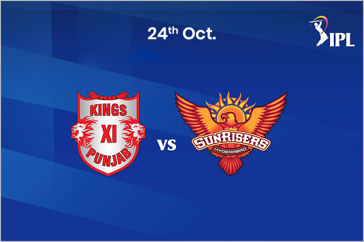 Kings XI Punjab (KXIP) Vs SunRisers Hyderabad (SRH), 24th October, IPL 2020-Best IPL Matches