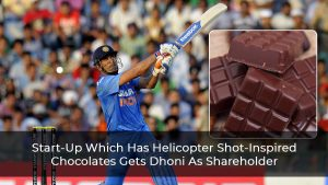 Start-Up Which Has Helicopter Shot-Inspired Chocolates Gets Dhoni As Shareholder
