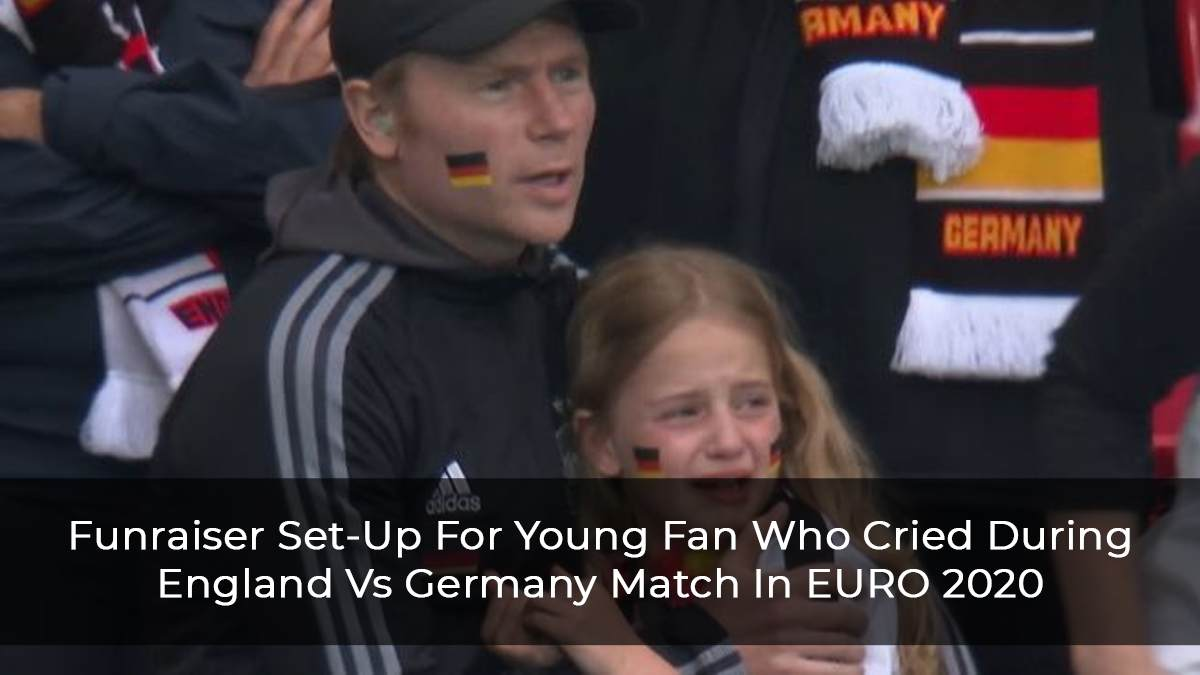 England 2-0 Germany: Fundraiser Set-Up For For Young Girl Who Wept During Euro 2020 Match