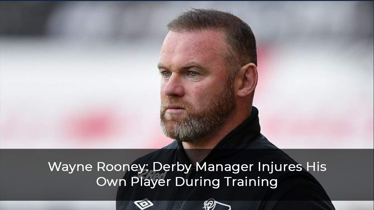 Wayne Rooney: Derby Manager Injures His Own Player During Training