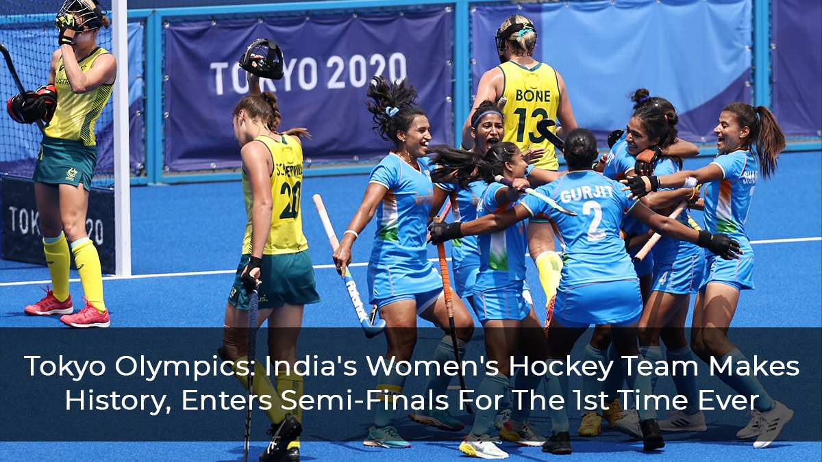 Tokyo-Olympics--India's-Women's-Hockey-Team-Makes-History,-Enters-Semi-Finals-For-The-1st-Time-Ever