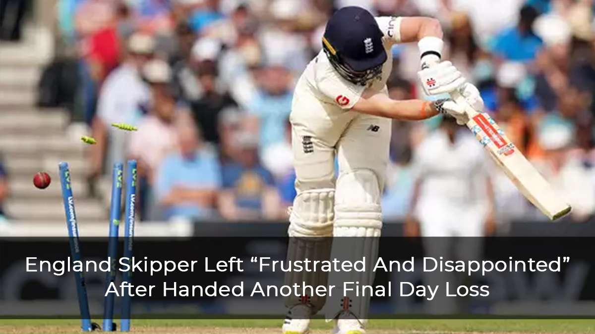 """England Skipper Joe Root Left """"Frustrated And Disappointed"""" After Another Final Day Defeat"""