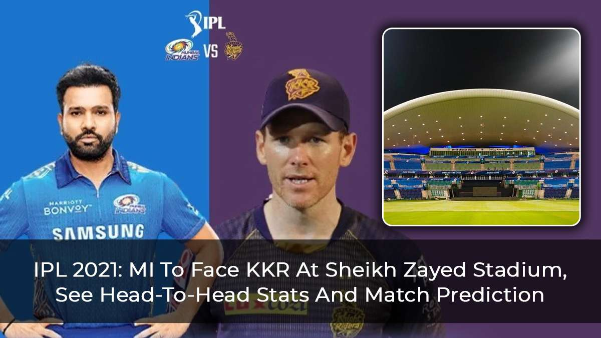 IPL 2021 Match 34: MI Vs KKR, Head-To-Head Stats, Top Performing Players And Match Prediction