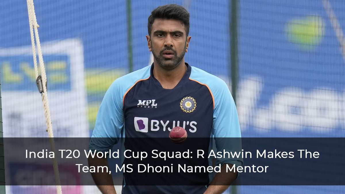 India's T20 World Cup Squad: Complete List, MS Dhoni Names As Mentor